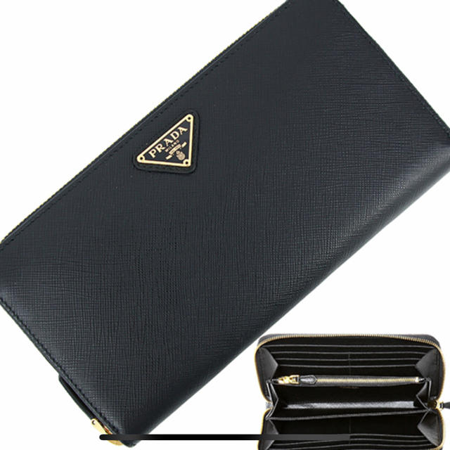 7e70017ff2f6 PRADA(プラダ)のPRADA プラダ 長財布 サフィアーノ 財布 レディース 新品 人気 レディースの