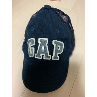 ベビーギャップ(babyGAP)のbabygap メッシュロゴキャップ S〜M(キャップ)