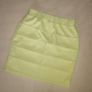バイバイ(ByeBye)の春にぴったり☆ パステルカラーの段スカート(ミニスカート)