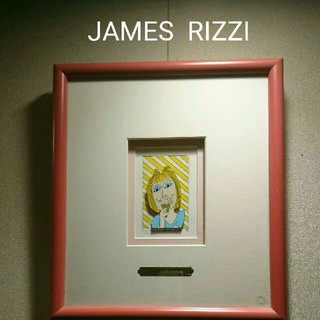 ☆JAMES RIZZI☆ 3D アート※直筆サイン入り9/350(絵画/タペストリー)