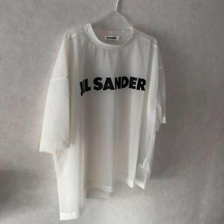 ジルサンダー(Jil Sander)のJil Sander シースルーTシャツ(Tシャツ/カットソー(半袖/袖なし))