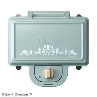 ✨新品未使用✨ BRUNO ムーミン ホットサンドメーカー ダブル(サンドメーカー)