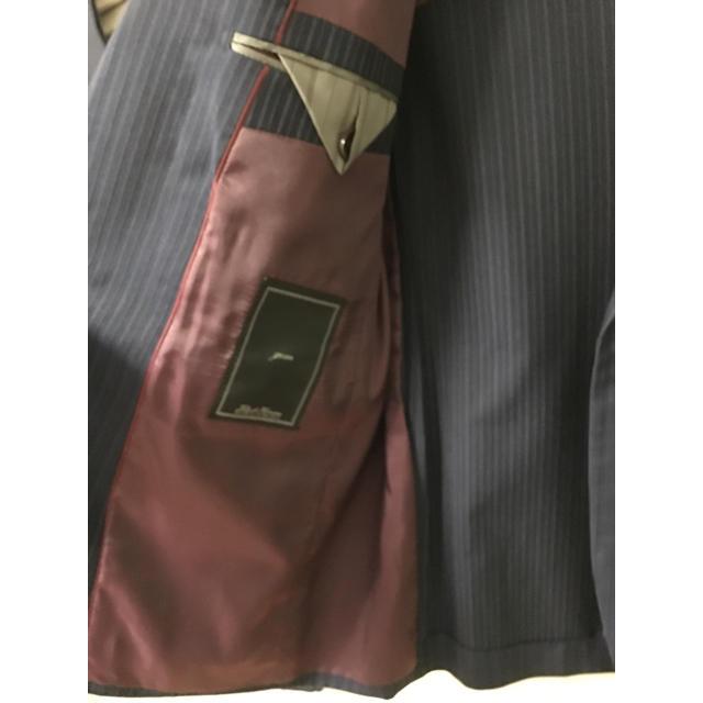 TETE HOMME(テットオム)のtete home 春夏スーツ ネイビーストライプ メンズのスーツ(セットアップ)の商品写真