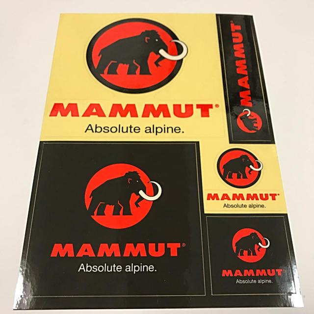 Mammut(マムート)の❤️ マムート ステッカー ❤️ スポーツ/アウトドアのアウトドア(その他)の商品写真