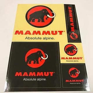 マムート(Mammut)の❤️ マムート ステッカー ❤️(その他)