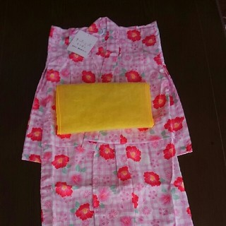 2b5c812aa285f キスミス(Xmiss)のキスミス子供用浴衣、帯二点セット size100 新品