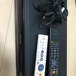 東芝 REGZA DVDレコーダー  美品(DVDレコーダー)