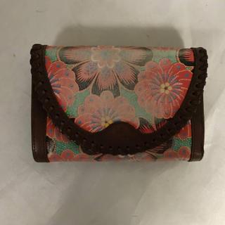 ヴィヴィアンウエストウッド(Vivienne Westwood)の本物ヴィヴィアンウエストウッド本革レザー二つ折り財布サイフ札入れレディース茶(財布)