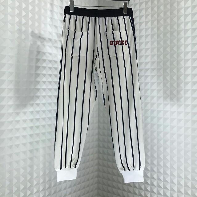 Gucci(グッチ)のGUCCI グッチ NY刺繍 チノパン スラックス メンズのパンツ(スラックス)の商品写真
