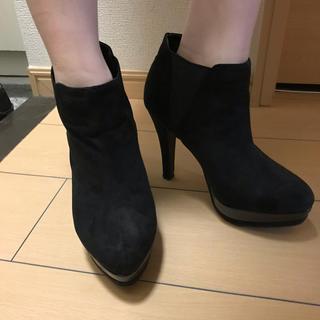 シマムラ(しまむら)のZARA 系☆サイドゴアショートブーツ ママさんにも(ブーツ)