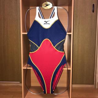 ミズノ(MIZUNO)のmeno1207様専用 競泳水着 初期アクセルスーツ 紺×黒×赤×白(水着)
