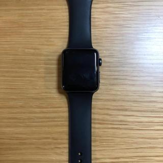 アップルウォッチ(Apple Watch)のapple watch series3(腕時計(デジタル))