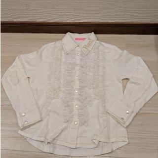 ロニィ(RONI)のロニィ   ワイシャツ   ML(135〜145㎝)(ブラウス)