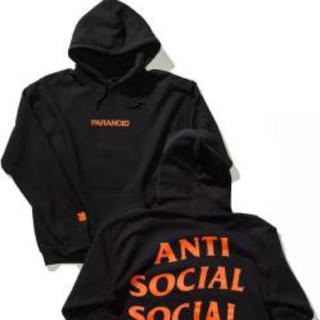 アンチ(ANTI)のanti social social club undefeatedパーカー(パーカー)