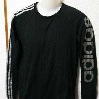 アディダス(adidas)のadidas(アディダス)の長袖Tシャツ、ロングTシャツ(Tシャツ/カットソー(七分/長袖))