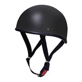バイクパーツセンター ヘルメット ハーフ ダックテール マットブラック 7118(ヘルメット/シールド)