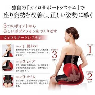 【クロちゃんさん専用】骨盤矯正チェア MTG ボディメイクシート style(座椅子)