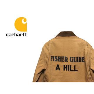 カーハート(carhartt)のVintage Carhartt デトロイト ジャケット / ダック ライニング(カバーオール)