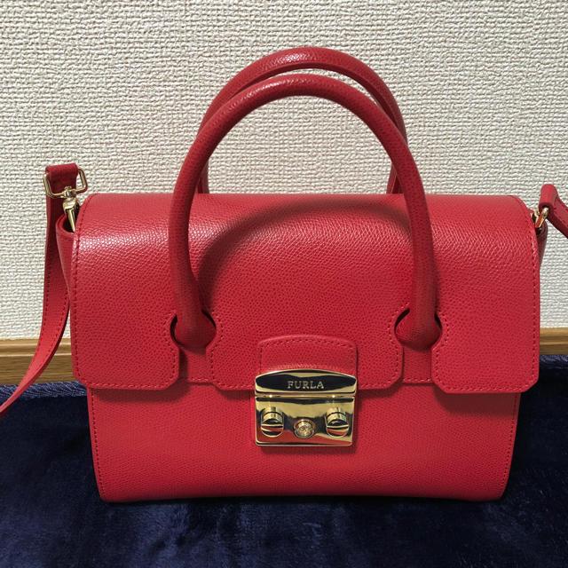 e089faf3f0e9 Furla - FURLA 赤バッグ 2way 美品の通販 by shop cosmos|フルラならラクマ