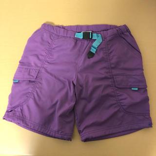 アディダス(adidas)のadidas アディダス ハーフパンツ パープル 紫  Mサイズ(ウェア)