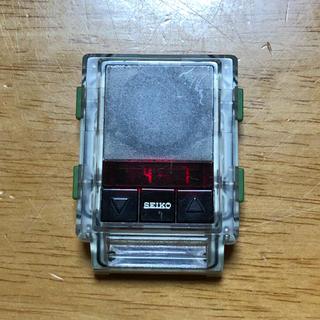 セイコー(SEIKO)のSEIKO Frequency globe 限定モデル 90s フェイスのみ(腕時計(デジタル))