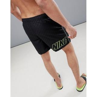 ナイキ(NIKE)の送料込み Nike(ナイキ)Mサイズ ロゴ スイムショーツ 水着 人気商品(水着)