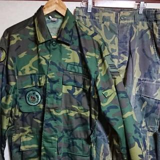 しのぴ3様専用 ◎送料無料◎中華民国陸軍 台湾陸軍 リーフパターン上下セット(戦闘服)