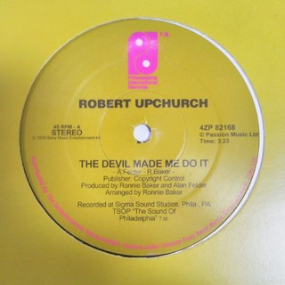 THE EBONYS b/w ROBERT UPCHURCH
