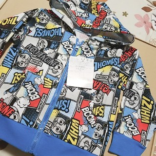 新品★トーマスパーカーsize100cm(Tシャツ/カットソー)