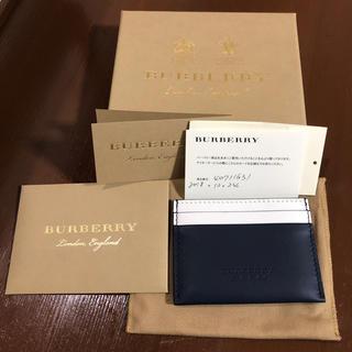 バーバリー(BURBERRY)のバーバリー カードケース(名刺入れ/定期入れ)