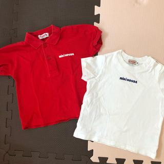 ミキハウス(mikihouse)のお値下げ↓ミキハウス ポロシャツ&Tシャツセット♪80(シャツ/カットソー)