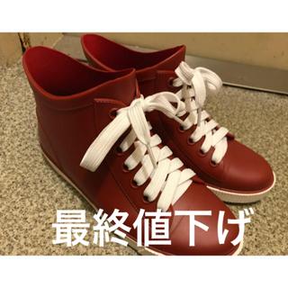 シマムラ(しまむら)のレインスニーカー(レインブーツ/長靴)