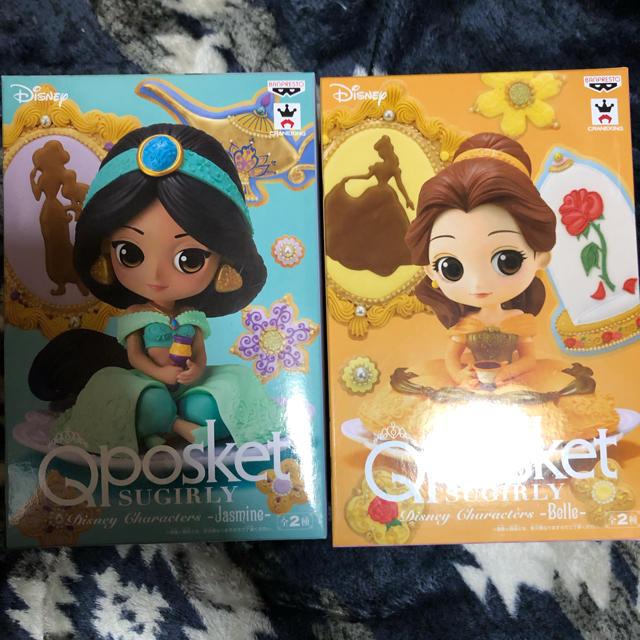 Qposket ディズニー  フィギュア  ベル  ジャスミン エンタメ/ホビーのおもちゃ/ぬいぐるみ(キャラクターグッズ)の商品写真