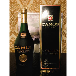 古酒 カミュ ナポレオン VIEILLE RESERVE(ブランデー)