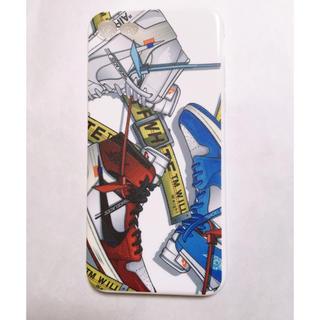 ナイキ(NIKE)のoff white air jordan 1 iPhone7、8用(その他)