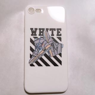 ナイキ(NIKE)のoff white air jordan 1 iPhone7、8用ケース(その他)