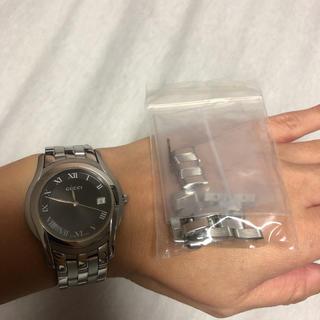 グッチ(Gucci)のGUCCI 腕時計 コマあり(腕時計(デジタル))