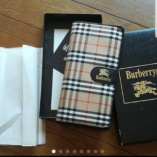 バーバリー(BURBERRY)の新品未使用 バーバリー 手帳カバー アドレス帳入り(カレンダー/スケジュール)