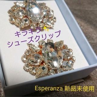エスペランサ(ESPERANZA)のらら様専用 Esperanza キラキラビジュー シューズクリップ(その他)