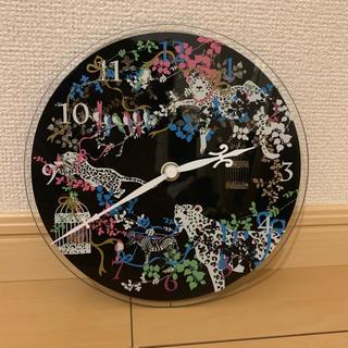 フランフラン(Francfranc)のアニマル柄 掛け時計(掛時計/柱時計)