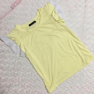 シマムラ(しまむら)のしまむら フリルトップス(Tシャツ(半袖/袖なし))