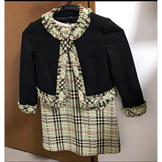 バーバリー(BURBERRY)のBURBERRY LONDON ワンピースジャケットセット(ドレス/フォーマル)