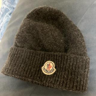 モンクレール(MONCLER)のMONCLER ニット帽(ニット帽/ビーニー)