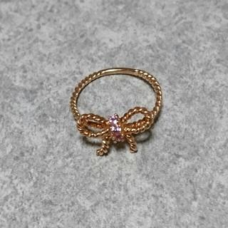 サマンサティアラ(Samantha Tiara)のサマンサティアラ★リボンリング 9 指輪 (リング(指輪))