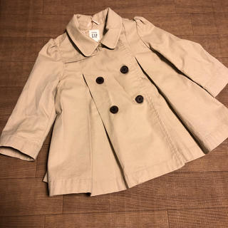 Outerwear Baby Gap Girls Beige/ Camel Colour Formal Coat Size 6-12 Months