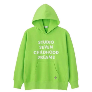 GU - スタジオセブン studio seven GU グリーン パーカー