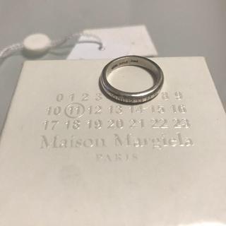 マルタンマルジェラ(Maison Martin Margiela)のマルジェラ ピンキーリング カワグチジン(リング(指輪))