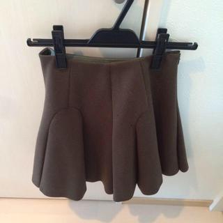 アクアガール(aquagirl)の新品未使用♡カーキフレアスカート(ひざ丈スカート)