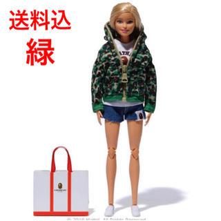 アベイシングエイプ(A BATHING APE)の希少品 BAPE バービー エイプ BAPE x barbie コラボ(ぬいぐるみ/人形)