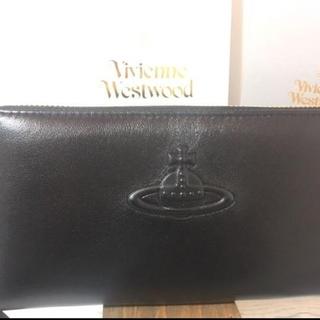 ヴィヴィアンウエストウッド(Vivienne Westwood)の【新品/未使用/正規品】ヴィヴィアン・ウエストウッド×2(黒,紫長財布)(財布)